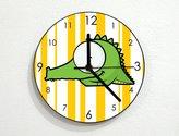 inPhoenix Cute Crockodile - Baby Nursery Kids Room - Custom Name Wall Clock