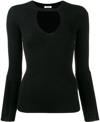 P.A.R.O.S.H. Ribbed Cut Out Jumper