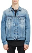 Palm Angels Legalize It Cotton Denim Jacket