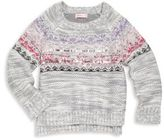 Design History Toddler's & Little Girl's Hi-Lo Knit Sweater