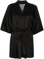 Fleur of England Nocturnal robe - women - Silk/Polyester/Spandex/Elastane - S/M