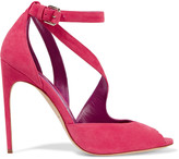 Brian Atwood Michelle suede sandals