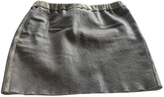 Isabel Marant Brown Leather Skirt