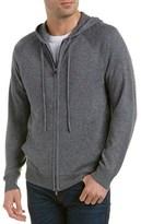 Michael Stars Zip-front Wool-blend Hoodie.