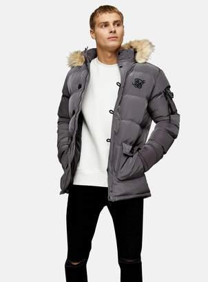 SikSilk TopmanTopman Shiny Puffer Parka Jacket