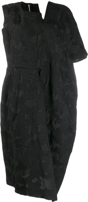 Comme des Garcons Asymmetric Midi Dress