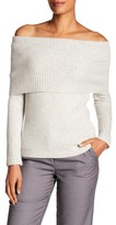 Hobbs Daisy Wool-Blend Off-the-Shoulder Sweater