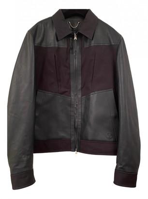 Louis Vuitton Black Leather Jackets