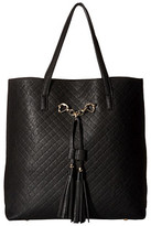 Gabriella Rocha Abbey Quilted Tote with Tassels