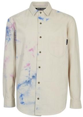 Palm Angels Tie-Dye denim shirt