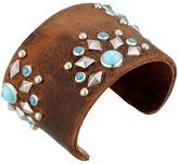 Leather Rock B648 Bracelet