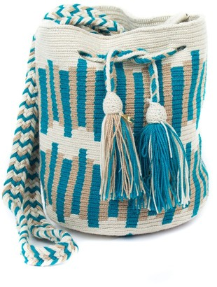 Velvet by Graham & Spencer Wayuu Crochet Crossbody Bag By Guanabana