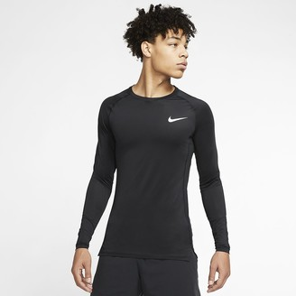 Nike Men's Tight Fit Long-Sleeve Top Pro