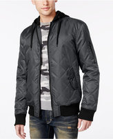 American Rag Men's Quilted Hooded Bomber Jacket, Only at Macy's