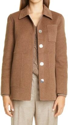 Lafayette 148 New York Pascal Two-Tone Wool & Cashmere Jacket
