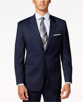 Alfani Men's Traveler Navy Solid Classic-Fit Jacket, Created for Macy's