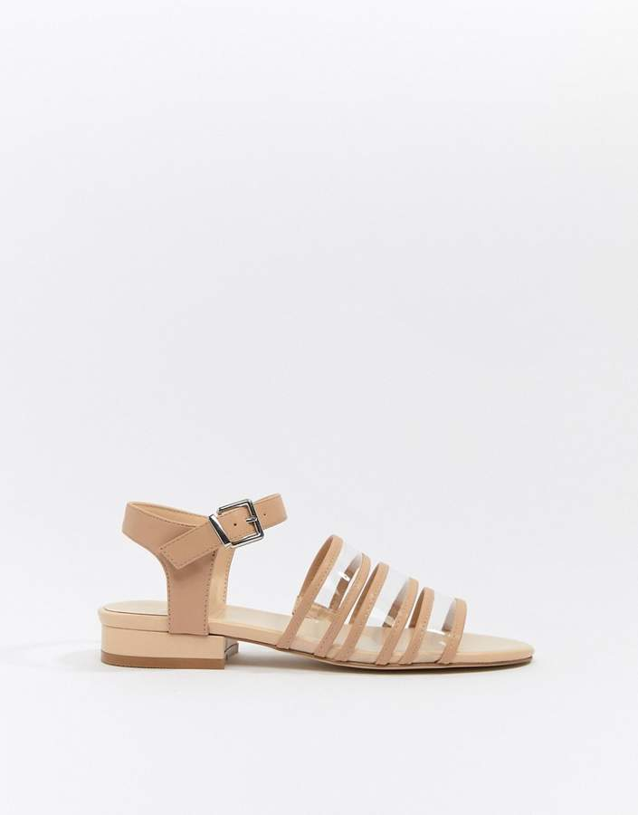 2a3dd9fc2 Clear Flat Sandals - ShopStyle