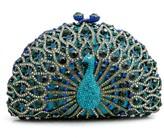 LUXMOB Peacock Clutch