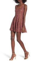 NBD Women's Jonas Lace Fit & Flare Dress