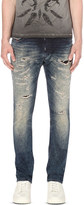 Diesel Thavar 0674v slim-fit tapered jeans