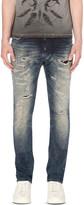 Diesel Thavar 0674v slim-fit tapered jeans