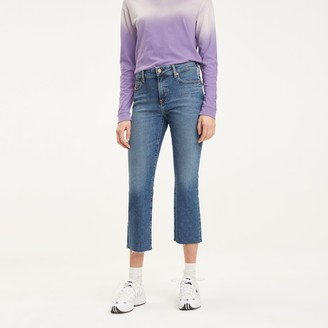 Tommy Hilfiger Cropped Flare Fit Jean
