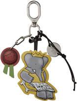Lanvin Silver Babar Edition Charm Keychain