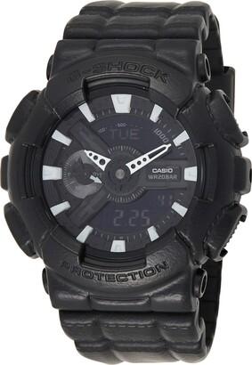 Casio Mens Digital Quartz Watch with Resin Strap GA-110BT-1AER