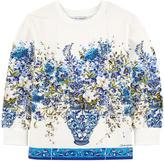 Dolce & Gabbana Flower-printed sweatshirt Caltagirone