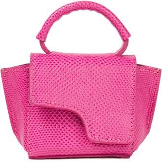 ATP ATELIER San Gimignano Snake-effect Leather Shoulder Bag