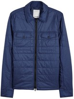 J.lindeberg Travon Blue Quilted Shell Jacket