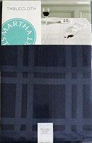 "Martha Stewart Table Linens, Skylight Plaid Tablecloth 60"" x 120""in( 10-12 Seats) - Blue"