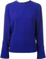 Stella McCartney drape sleeve blouse - women - Elastodiene/Acetate/Viscose - 40