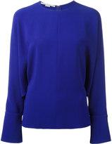 Stella McCartney drape sleeve blouse - women - Elastodiene/Acetate/Viscose - 44