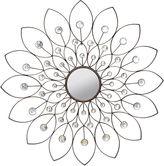 Asstd National Brand Stratton Home Dcor Decorative Flower Mirror