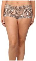 Hanky Panky Plus Size Leopard Nouveau Boyshort Women's Underwear