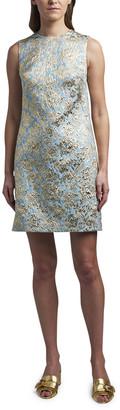 Dolce & Gabbana Jacquard Shift Cocktail Dress