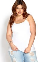 Forever 21 FOREVER 21+ Plus Size Favorite Scoop Neck Cami