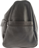 Piel Women's Leather Tri Shaped Sling Bag 2017