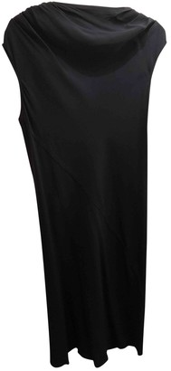Rick Owens Navy Viscose Dresses