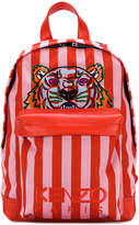 Kenzo striped Tiger backpack