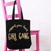 Nell Elsie & 'Girl Gang' Cotton Tote Bag