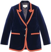 Gucci Web trim blazer