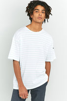 Armor Lux Classic Mint And White Striped T-shirt