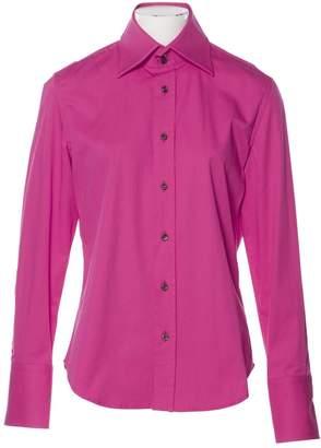 DSQUARED2 Pink Cotton Shirts