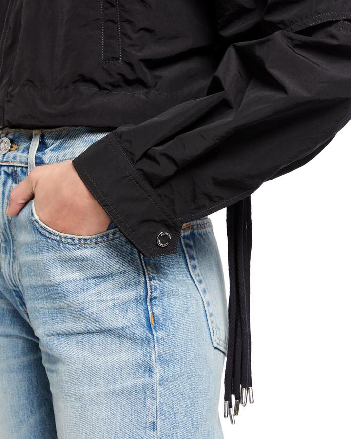 Thumbnail for your product : Ambush Multi-Cord Cropped Nylon Jacket