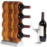 Nambe Barware Curvo Wine Rack