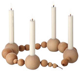 ferm LIVING Candleholder String Light Brown