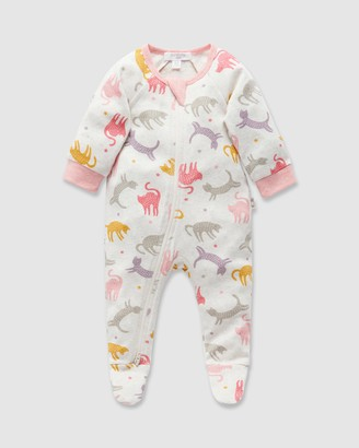 Purebaby Zip Longjohns - Babies