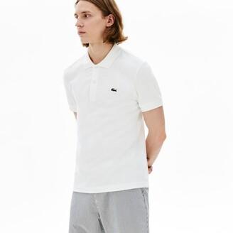 Lacoste Men's Cotton Fleece Blend Regular Fit Polo Shirt